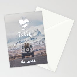 NEVER STOP EXPLORING ICELAND Stationery Cards