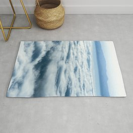 Above the Clouds - Nature Photography Rug