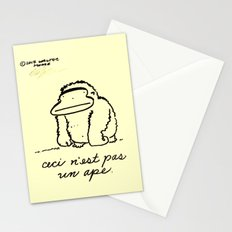 Ceci n'est pas un Ape Stationery Cards