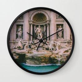 Fontana di Trevi Wall Clock