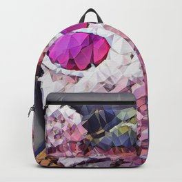 """""""Pinky the Pig Polygon Portrait"""" Backpack"""