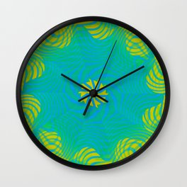 Moving stripes ... 3 Wall Clock