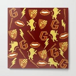 Daring- Gryffindor Metal Print