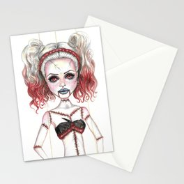 Marionette Corpse Art by Laurie Leigh Stationery Cards