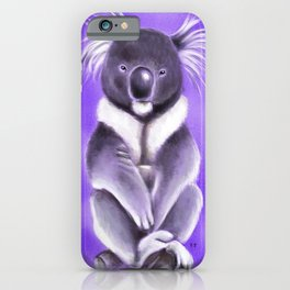 Cool Buddha Koala iPhone Case