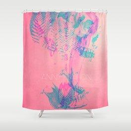Annihilation Shower Curtain