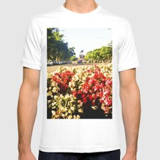 For Mom on her birthday. White MEDIUM Mens Fitted Tee