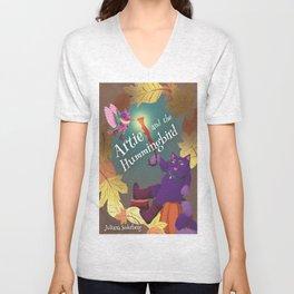 Artie and the Hummingbird Book Cover Unisex V-Neck