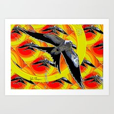 Swallow tailed Kite 4 Art Print