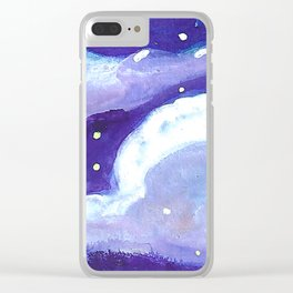 chunk of sky # 4 Clear iPhone Case