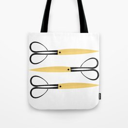 Antique Scissors Tote Bag