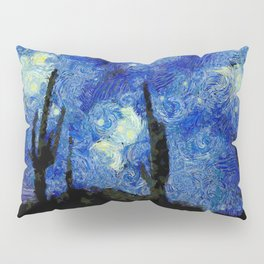 Starry Night Over the desert Pillow Sham