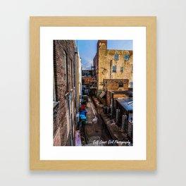 Gulfport Alley Framed Art Print