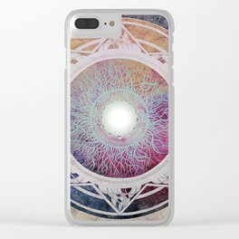 Mantra Clear iPhone Case