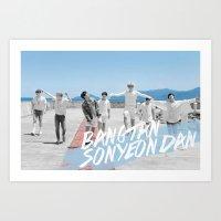 (BTS) Bangtan Boys Art Print