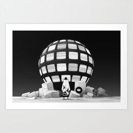 信号 - SIGNAL Art Print