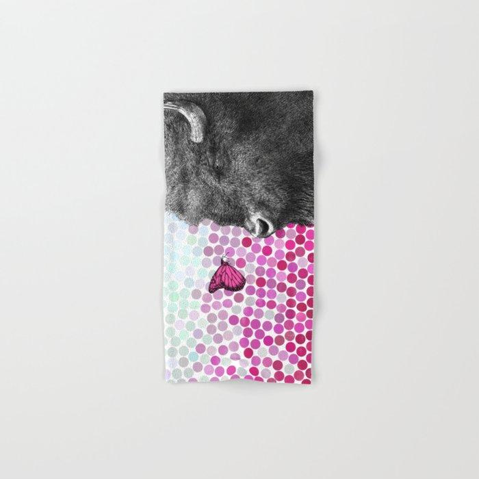New Friends 4 by Eric Fan & Garima Dhawan Hand & Bath Towel