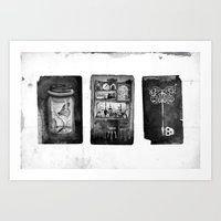 alchemy Art Prints featuring Alchemy by Mutt Ink