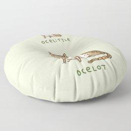 Ocelittle Ocelot Floor Pillow