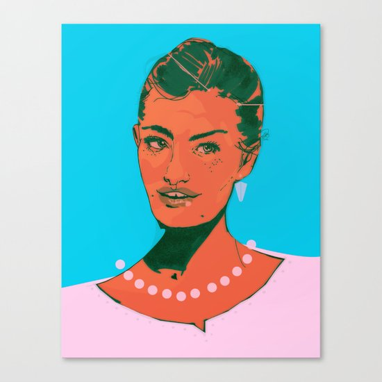 Here I Am Canvas Print