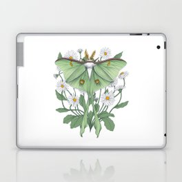 Metamorphosis - Luna Moth Laptop & iPad Skin