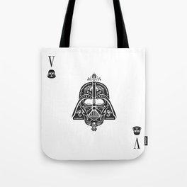 Darth Vader Card Tote Bag