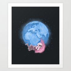 Lost in a Space / Homeckly Art Print