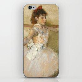 """Edgar Degas """"The Dance Lesson"""" iPhone Skin"""
