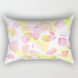 180527 Watercolour Abstract 20    Watercolor Brush Strokes Rectangular Pillow