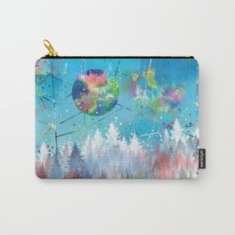 colorful forest 3 Carry-All Pouch