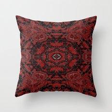 Regal Red Throw Pillow