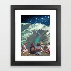 FIELD TRIP Framed Art Print