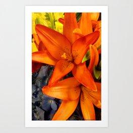 Brunch Bouquet Art Print