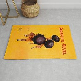 Leonetto Cappiello Revel Umbrella Advertising Poster Rug