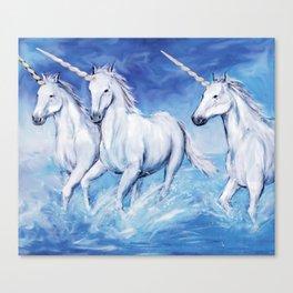 Unicorns Canvas Print