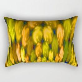 Flower bouquet abstract Rectangular Pillow