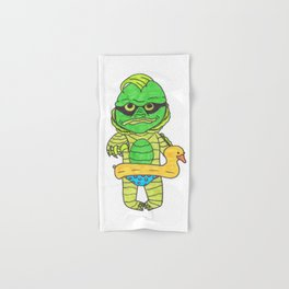 Baby creature from the black lagoon Hand & Bath Towel