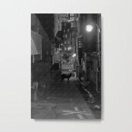 Deer in Tokyo Metal Print
