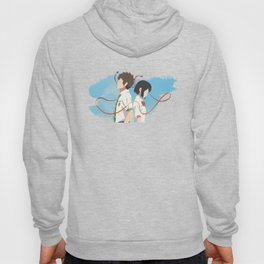 Your Name Minimalist (Taki and Mitsuha) Hoody