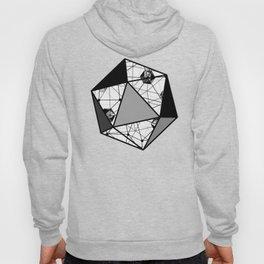 Black and White Geometric Shape Constellation Dream Hoody