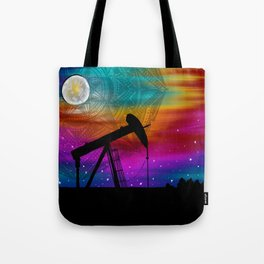Pumpjack- Oilfield Strong Tote Bag