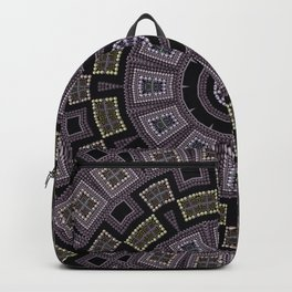 Embroidery beads and beads Backpack