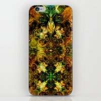 fibonacci iPhone & iPod Skins featuring Fibonacci 1 by Aleks7