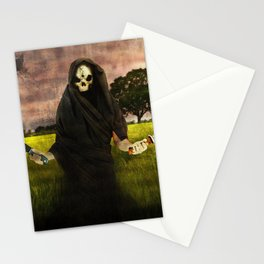 Death loves you Stationery Cards
