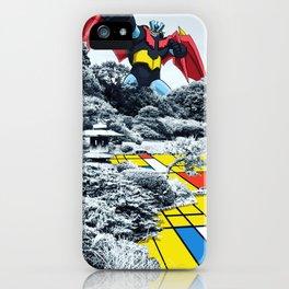 Mondrian Z iPhone Case