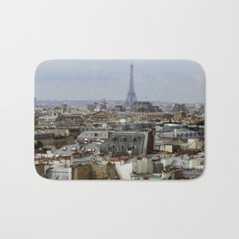 Paris Rooftops Bath Mat