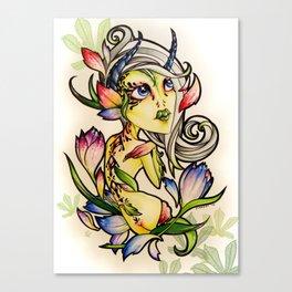 Dark Tulip Fairy Canvas Print