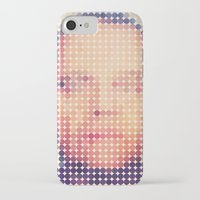 jack nicholson iPhone & iPod Cases featuring Jack of dots by lev man