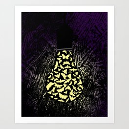 Dark Attraction Art Print