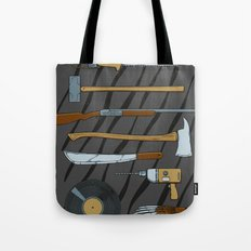 Horrible Weapons Tote Bag